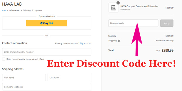 Hava Lab discount code